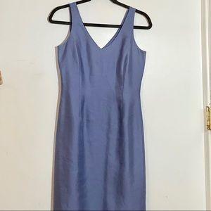 Ann Tailor Women's cocktail Dress Blue SZ 2P .....